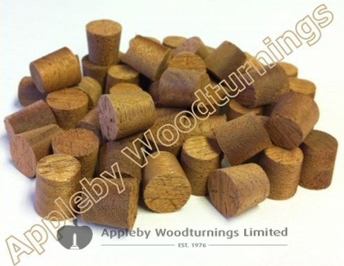 """3/8"""" Utile Tapered Wooden Plugs 100pcs"""