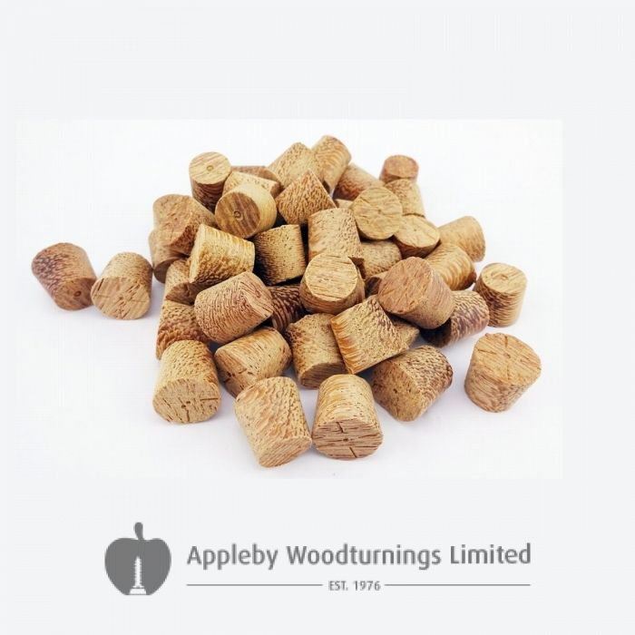 12mm Angelim Tapered Wooden Plugs 100pcs