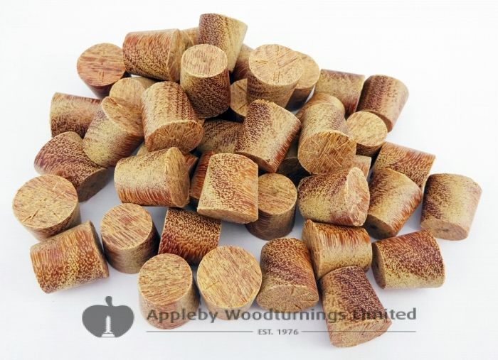 28mm Cumaru Tapered Wooden Plugs 100pcs