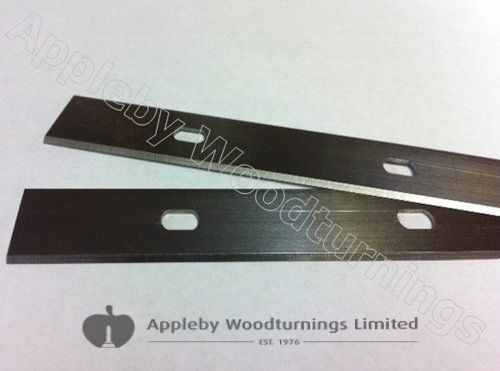 110 x 18.6 x 1mm HSS Double Edged Disposable Planer Blades 1 pair