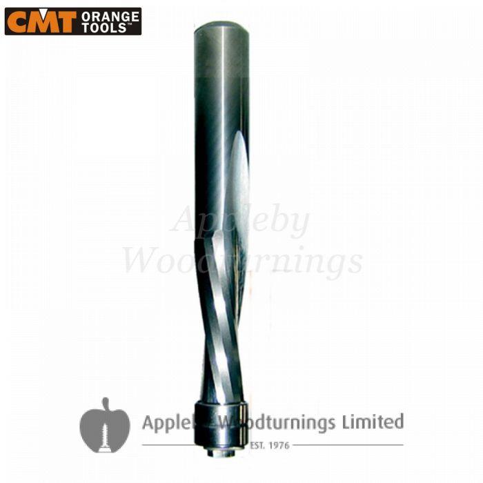 12.7mm dia x 31.7mm cut CNC S=12.7mm Down Cut Spiral With Bearing Z=2 R/H CMT