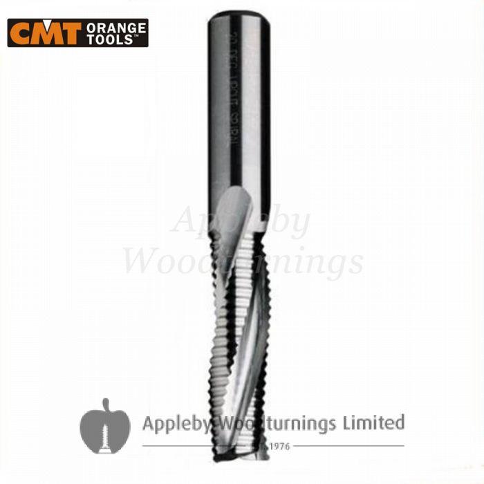 10mm dia x 32mm cut CNC Roughing Spiral Router Z=3 Positive L/H CMT
