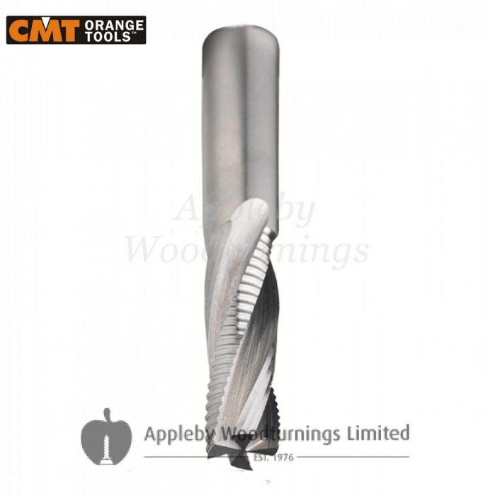 16mm dia x 55mm cut CNC Roughing Spiral Router Z=4 [Z2+2R] Positive R/H CMT