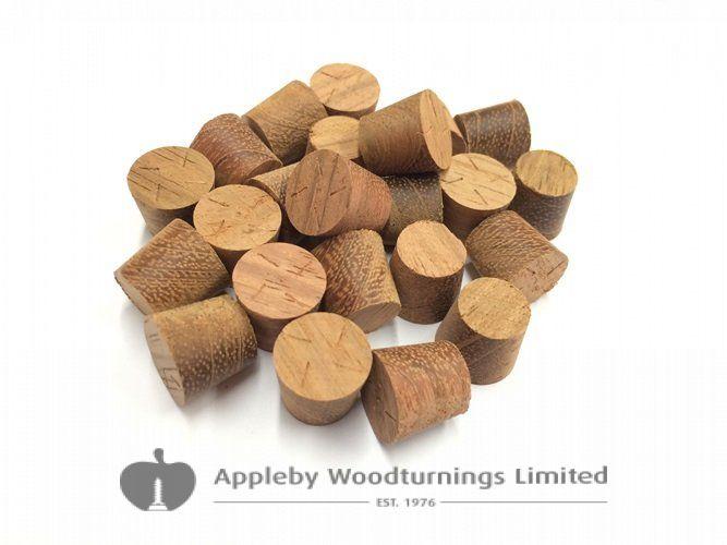 10mm Jatoba Tapered Wooden Plugs 100pcs