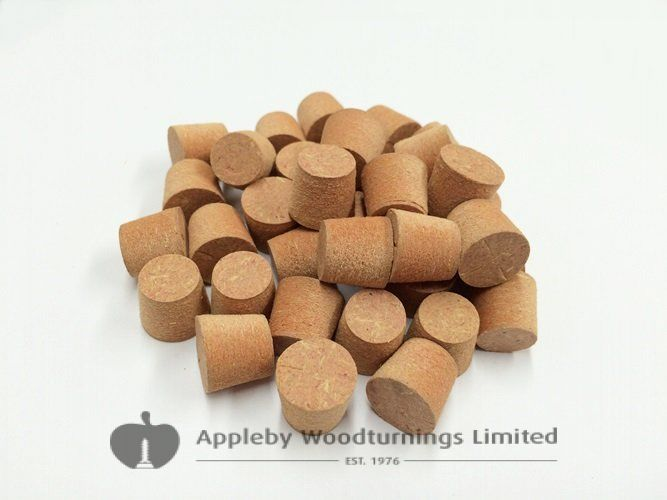 1/2 Inch Red MDF Tapered Wooden Plugs 100pcs