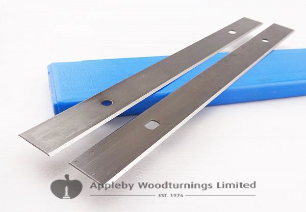 208 x 18.6 x 1mm HSS Double Edged Disposable Planer Blades 1 pair