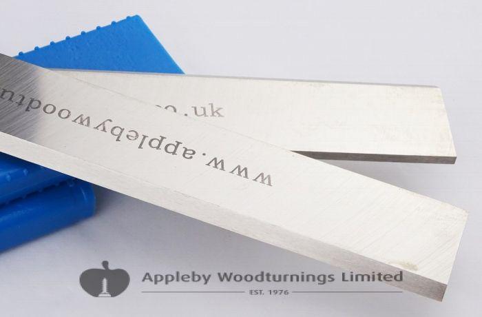 160 x 30 x 3mm HSS Resharpenable Planer Blades 1 Pair