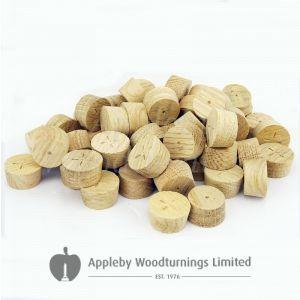 25mm European Oak Tapered Wooden Plugs 100pcs