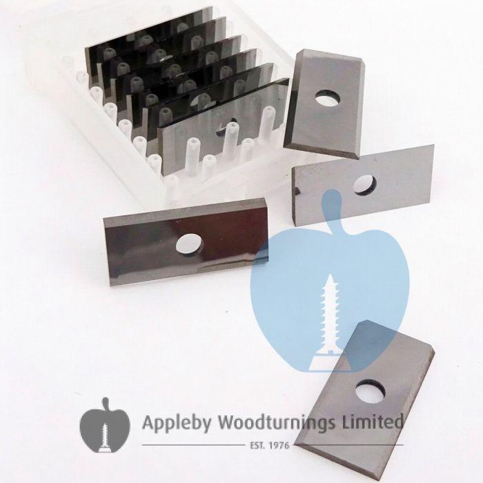 24 x 12 x 1.5mm  Reversible Knives Solid Carbide Tips 1 Box (10pcs)