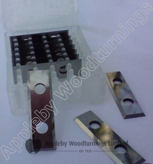 29.5 x 9 x 1.5mm Reversible Knife Turn Blades 1 Box (10pcs)