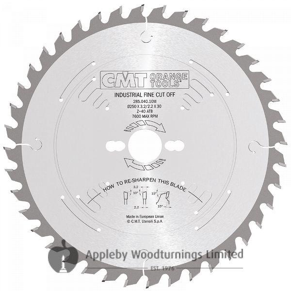 260mm Z=60 ATB Id=30 CMT Mitre Saw Blade To Suit Kapex KS120