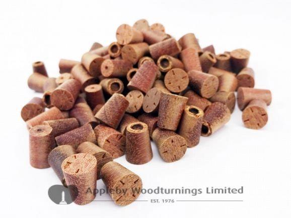 8mm English Oak Tapered Wooden Plugs 100pcs