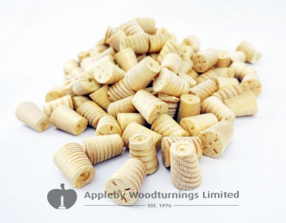 10mm Joinery Grade Redwood Tapered Wooden Plugs 100pcs