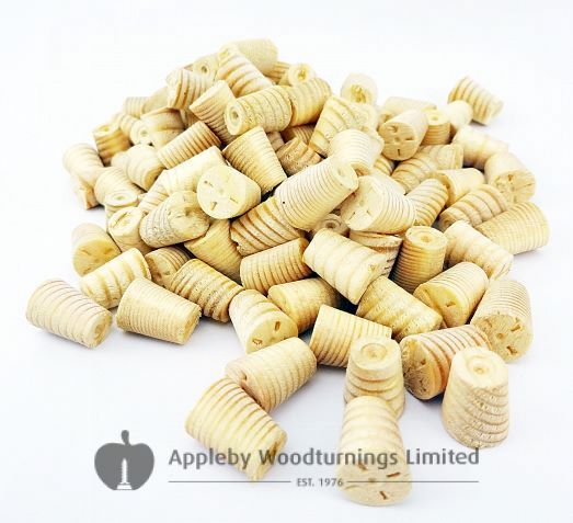 10mm Softwood / Pine Tapered Wooden Plugs 100pcs