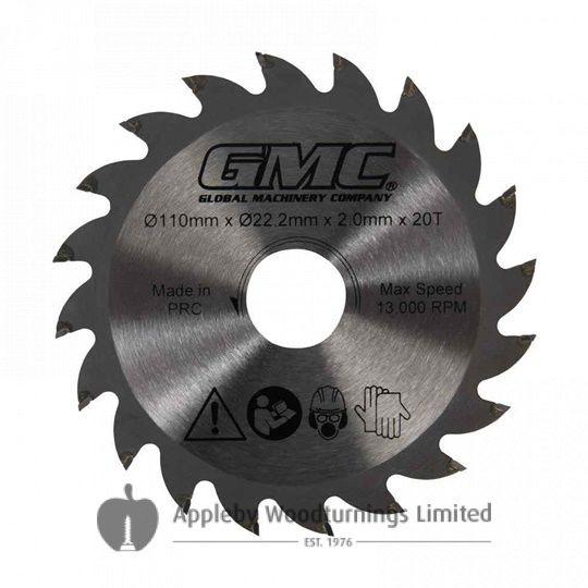 110mm GMC TCT Circular Saw Blade For Portable Plunge Saw