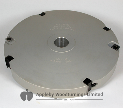 200 x 20mm Id=30mm Whitehill Fixed Turn Blade Groover 200S00460