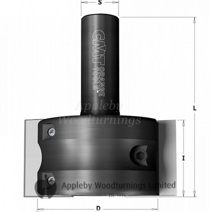 CMT CNC Euro Profile Head 65mm S=20  663.301.11