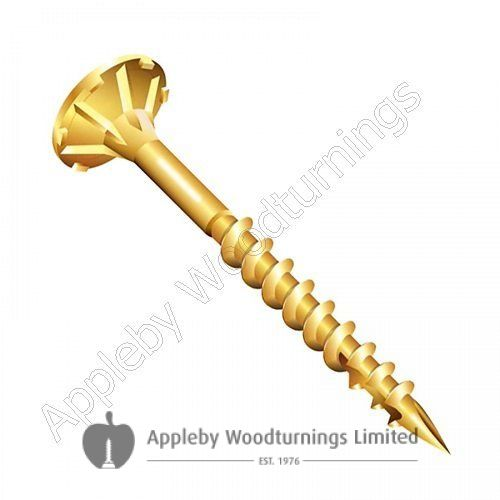 3.5 x 25mm Reisser CUTTER Woodscrews 200pcs