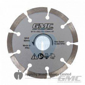 110mm GMC Diamond Circular Saw Blade For Portable Plunge Saw 564293