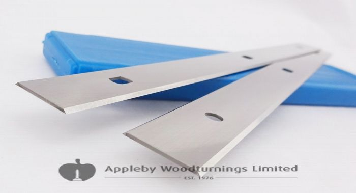 260 x 18 x 1mm HSS Double Edged Disposable Planer Blades 1 Pair