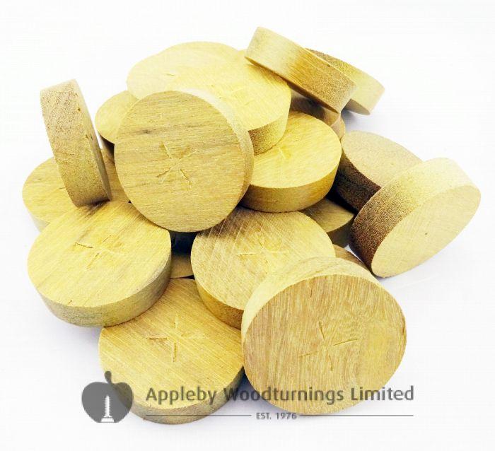 28mm Greenheart Tapered Wooden Plugs 100pcs
