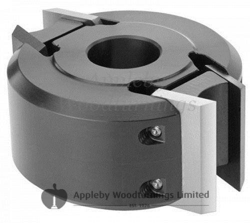 120 x 50mm x 30mm Bore Euro Profile Limiter Cutter Block