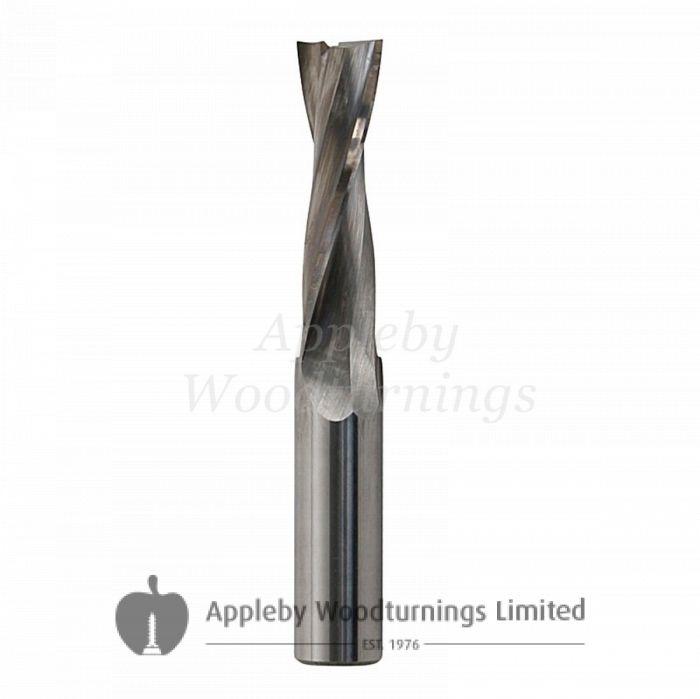 3.5 mm Carbide End Mill Router Bit CNC Spiral 2 Flute 11 mm Cut Length