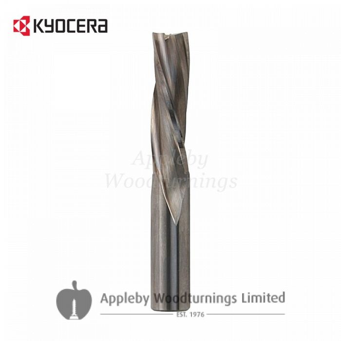 12mm dia x 42mm cut CNC S=12mm Finishing Spiral Router Z=3 Negative R/H Unimerco