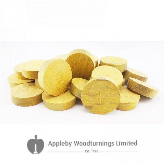 16mm Greenheart Tapered Wooden Plugs 100pcs