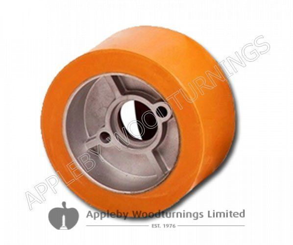 120 x 60mm Rubber Feed Roller 1 Piece