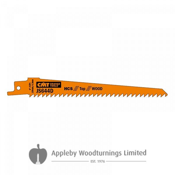 150mm Fine Straight Sabre Saw Blade For Cutting Construction Wood-in 5 Pack