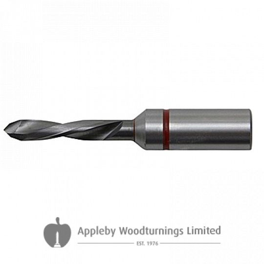 3mm x 57mm Through Point Dowel Drill Bit L/H Kyocera Unimerco