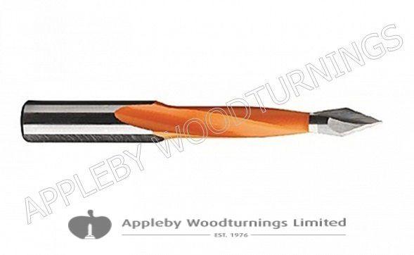 12 x 70mm Through Point Dowel Drill Bit L/H