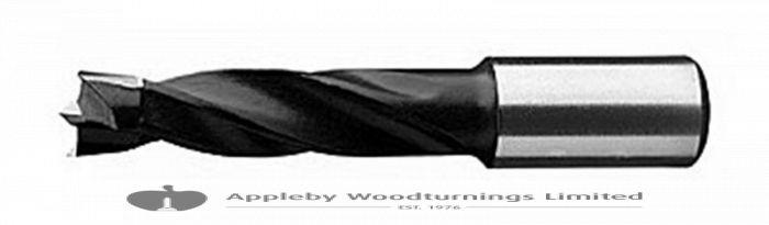 16mm x 57mm Lip & Spur Dowel Drill Bit R/H Kyocera Unimerco