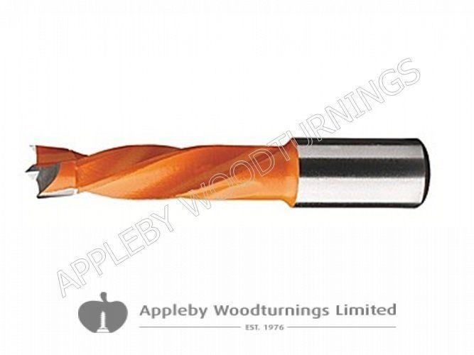 10mm x 57mm Lip & Spur Dowel Drill Bit L/H Kyocera Unimerco