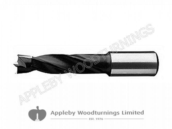12mm x 57mm Lip & Spur Dowel Drill Bit R/H Kyocera Unimerco