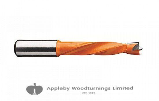 12.5mm x 70mm Lip & Spur Dowel Drill Bit L/H Kyocera Unimerco