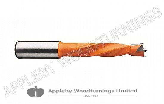 10mm x 70mm Lip & Spur Dowel Drill Bit L/H Kyocera Unimerco