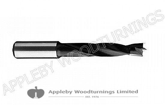 10mm x 70mm Lip & Spur Dowel Drill Bit R/H Kyocera Unimerco