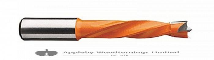 16mm x 70mm Lip & Spur Dowel Drill Bit L/H Kyocera Unimerco