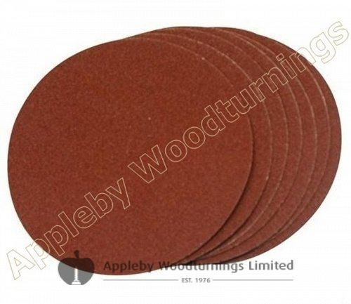 10 pack of 150mm Self Adhesive Sanding Discs Various Grit Sizes
