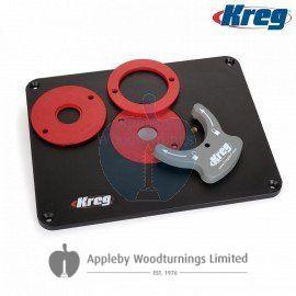 non pr Kreg PRS4038 Kreg Precision Router Table Insert Plate w// Level-Loc Rings