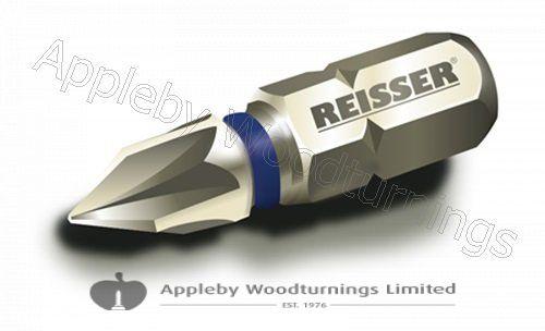 25mm Reisser Torsion Impact Bit PZD Size & Qty Selection