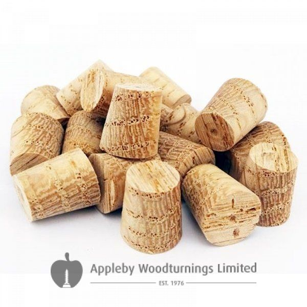 10mm American Red Oak Tapered Wooden Plugs 100pcs