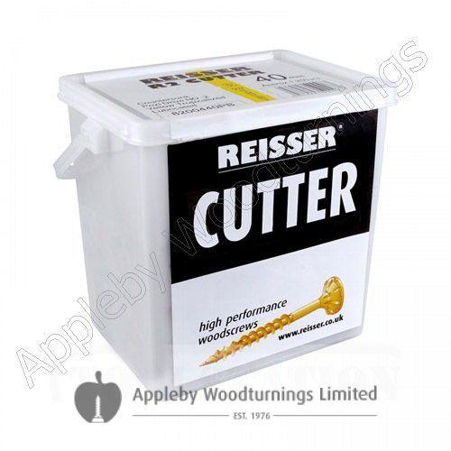 3.5 x 35mm Reisser CUTTER Woodscrews 1,400pc TUB