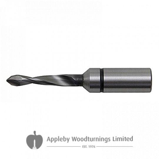 3mm x 57mm Through Point Dowel Drill Bit R/H Kyocera Unimerco