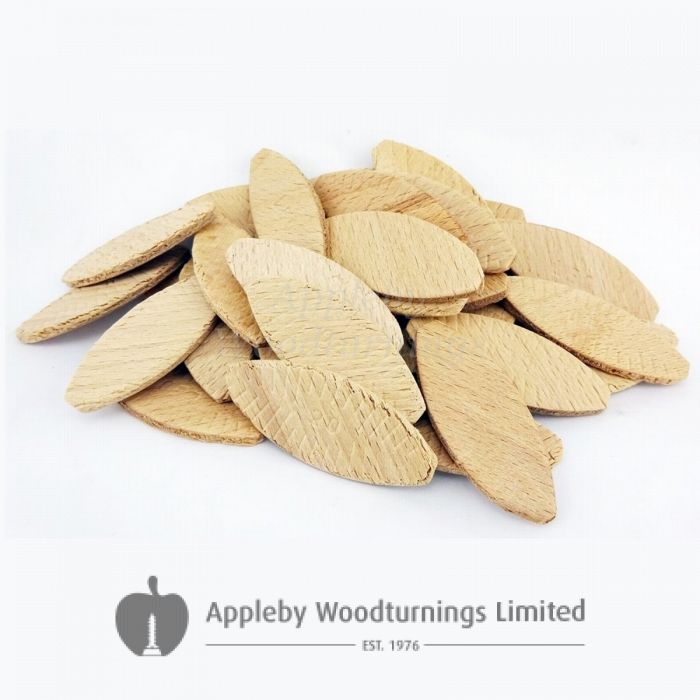 1000 Hardwood Jointing Biscuits Size 20