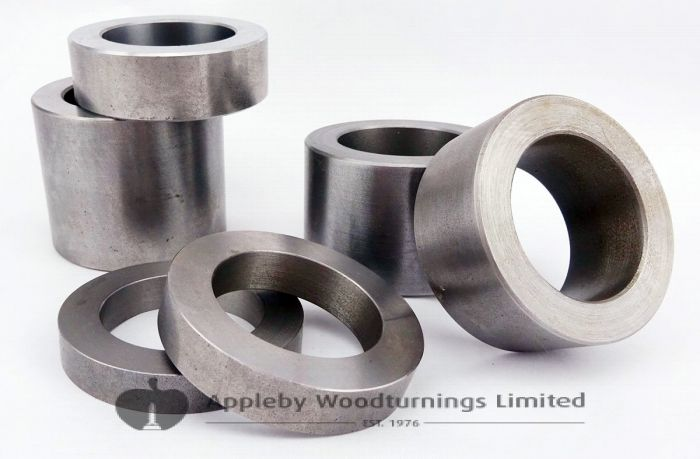 6 Piece Spacer Collar Rings Id=40mm (Set 2)