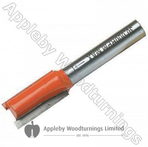 """18 x 25mm S=1/2"""" Silverline TCT Metric Straight Router Cutter"""