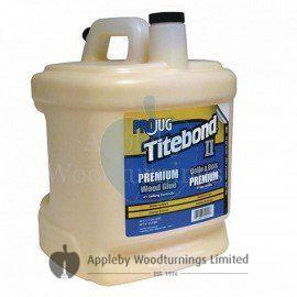 Titebond Premium II Water Resistant Interior / Exterior Wood Glue Pro Jug 8.1 Litres (2.1 US Gallons)